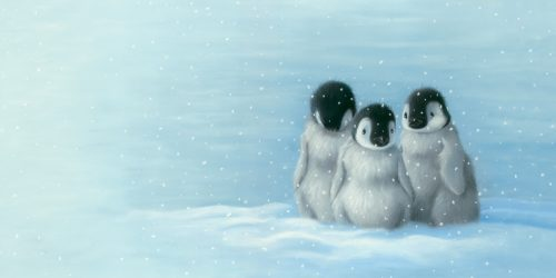 Three penguins 200dpi