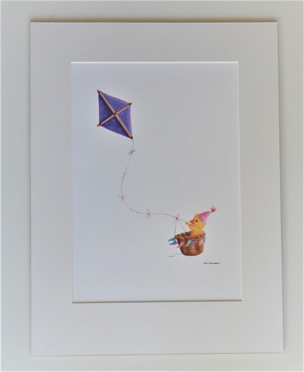 Duckling and Kite by Tina Macnaughton.