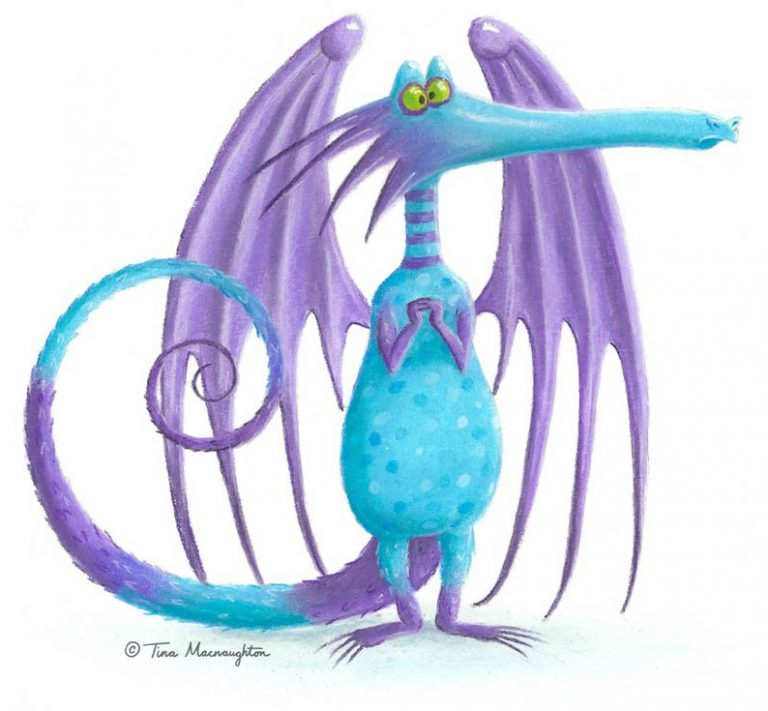 Blue Dragon by Tina Macnaughton.