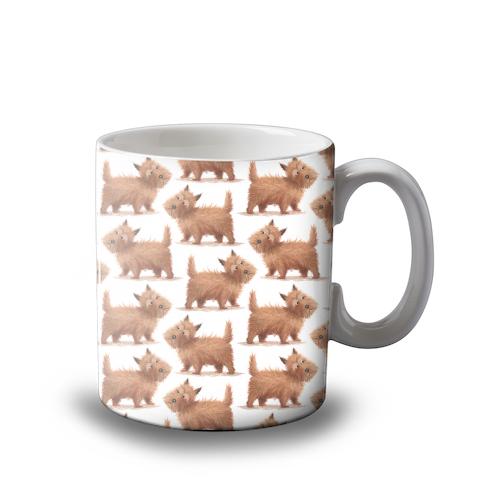 Cairn Terrier - Scottish Dog - Mug design by Tina Macnaughton.