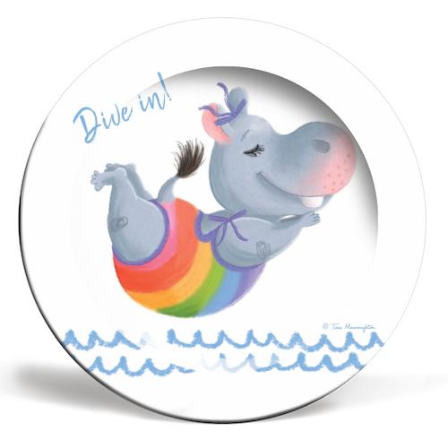 Little Rainbow Hippo Happiness Makes a Splash by Tina Macnaughton.