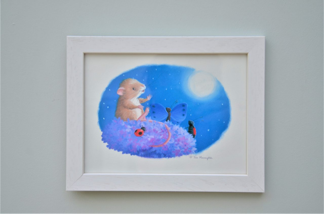 Mouse and the Moon illustrated by Tina Macnaughton.