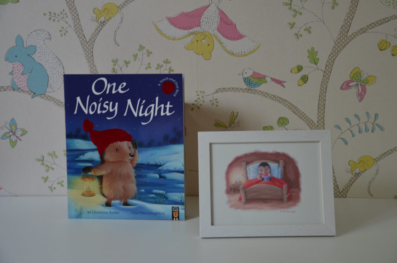 One Noisy Night Illustrated by Tina Macnaughton