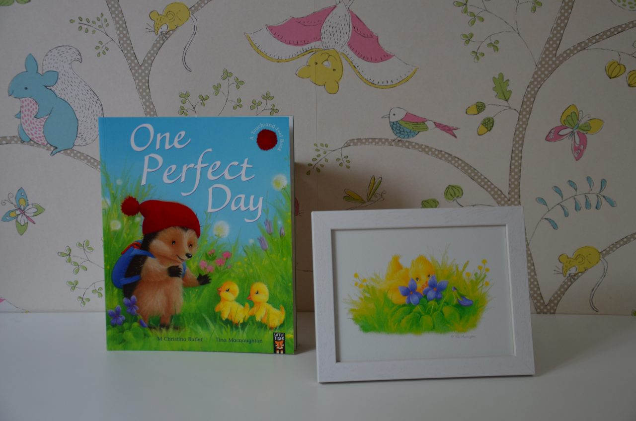 One Perfect Day illustrated by Tina Macnaughton