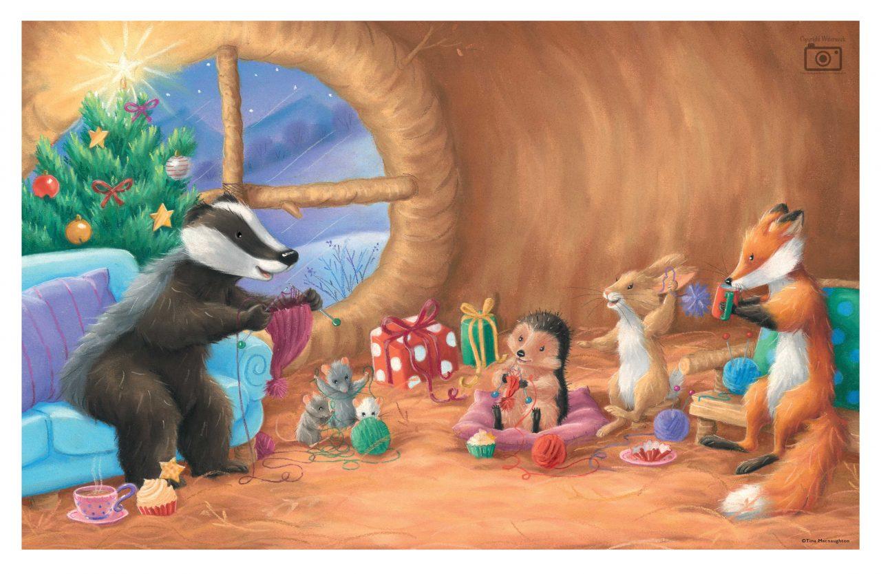 One Christmas Journey illustrated by Tina Macnaughton.