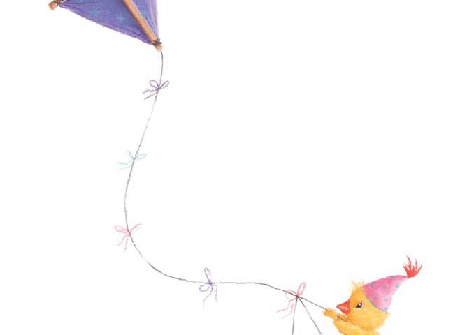 Duckling and Kite by Tina Macnaughton.
