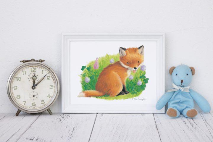Little Fox Cub